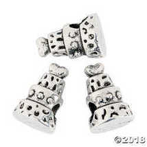 3-Tier Cake Large Hole Beads - 10mm - $8.13
