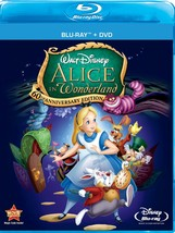 Disney Alice In Wonderland (Two-Disc 60th Anniversary Blu-ray/DVD Combo)