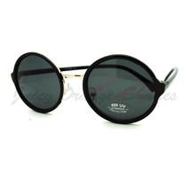 Vintage Fashion Sunglasses Round Circle Designer Frame - $7.95