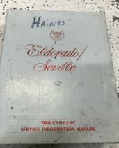 1988 GM Cadillac Eldorado Seville Servicio Tienda Reparación Manual OEM ... - $8.90