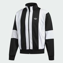 Adidas Originals Men's Retro Black White Bailer Track Jacket ED6252 - $94.04