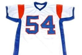 Kevin Castle #54 Blue Mountain State Movie Football Jersey White Any Size image 5