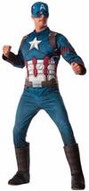 Captain America Civil War Marvel Superhero Fancy Dress Halloween Adult Costume - $65.53