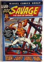 DOC SAVAGE #1 (1972) Marvel Comics VG/VG+ - $9.89