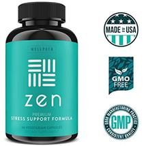 ZEN Premium Anxiety And Stress Relief Supplement - Natural Herbal Formula To & image 7