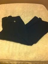 "NEW YORK & CO--WOMENS SLACKS / PANTS--SIZE 6--BLACK--25"" INSEAM--FREE SH... - $25.18"