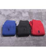 NEW NWT POLO RALPH LAUREN DRESS SOCKS 3 Pair Cotton Blend  SZ 10-13 - $33.99