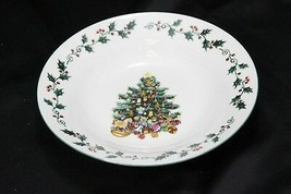 """Gibson Tree Trimmings Xmas Soup Bowls 8"""" Set of 8 - $47.03"""