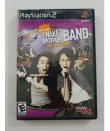 The Naked Brothers Band Video Game PS2 Game 2006 THQ Playstation 2 - $4.99