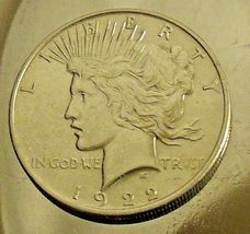 Uncirculated Liberty Peace Silver Dollar 1922 AA20-CND7008 image 4