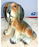 "Erphila Beagle Puppy Dog  Porcelain Figurine Germany #2662 3 1/2"" Tall - $66.82"