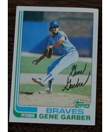 Gene Garber, Braves,  1982 #32 Topps Baseball Card GDC - GREAT CARD - $2.96