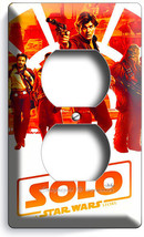 STAR WARS HAN SOLO STORY CHEWBACCA FALCON PILOT OUTLET WALL PLATE ROOM A... - $8.99