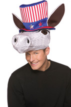 New donkey hat headwear USA patriotic costume mens womens Rasta Imposta - $9.79