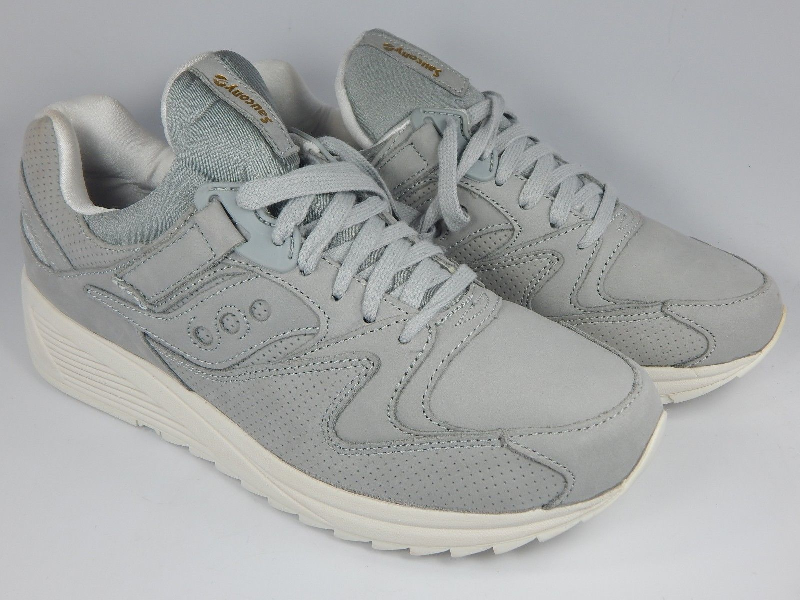 Saucony Grid 8500 HT Original Running Shoes Men's Sz 9 M EU 42.5 Gray S70390-3