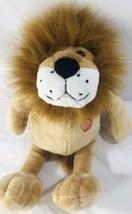 Lion Heart Plush Stuffed Animal Cat Gift Toy Soft Mane - £10.34 GBP