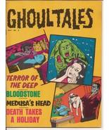 Ghoul Tales Magazine V1 #4 Stanley Publications Medusa's Head Bloodstone... - $14.95