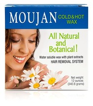 MOUJAN Cold & Hot Wax Kit 12 oz. image 1