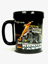 Snap On Tools Drivin' Proud Plastic Thermo Coffee Mug Off Road Truck Vin... - $29.65