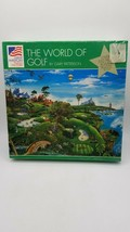 Great American Puzzle Factory: The World of Golf by Gary Patterson (550 Pieces) - $8.86