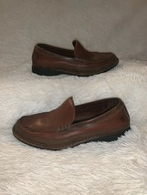 Timberland Smart Comfort Men's Leather Loafers Slip Ons Shoes Size 8.5 Brown - $29.44