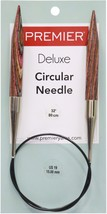"Premier Fixed Circular Knitting Needles 32""-Size 19/15mm - $13.68"