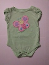 Garanimals Mint Green Butterfly Inside 0-3 Months - $1.97
