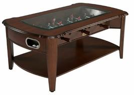 2 in 1 GAME TABLE~FOOSBALL SOCCER & COFFEE TABLE in WALNUT~BERNER BILLIARDS - $379.05
