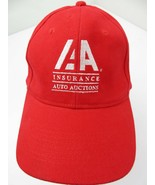 AA Insurance Auto Auctions Adjustable Adult Ball Cap Hat - £10.09 GBP