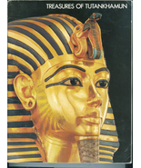 Treasures of Tutankhamun Soft Cover Book Metropolitan Museum of Art 1976 - $12.00