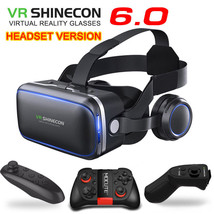 Virtual Reality Glasses 3D VR Set Headset Helmets Controller Magnetic Ad... - $39.90+