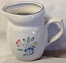 "Pitcher Floral Pattern Porcelain Made In Thailand 4"" - $9.35"