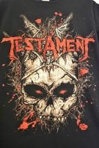 Testament North America 2012 Tour Concert T-Shirt Large - $22.99