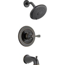 Delta 144984C-OB-A Porter 1-Handle Oil Rubbed Tub & Shower Faucet & Show... - $168.29