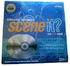 Scene it? Deluxe Edition, The DVD Movie Game by Screenlife, 2003 NEW and Sealed - $14.84