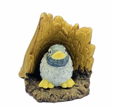 Bluebird figurine Franklin Mint woodland surprise vtg Jacqueline Smith b... - $19.16