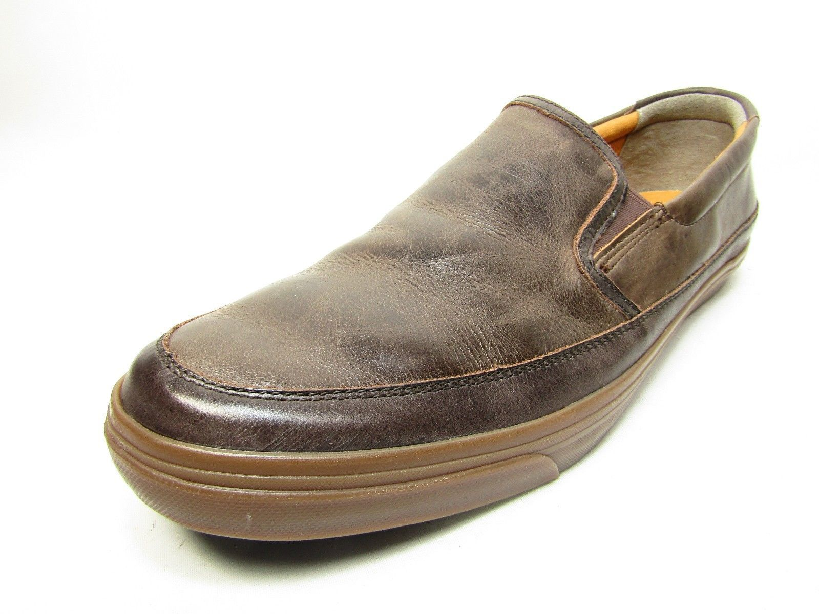 new style b6d8e c3afb Cole Haan Men s Ricta Slip On Shoes Color Dark Roast Size 13M -  48.37