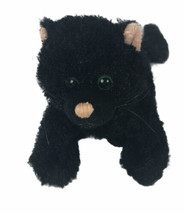 Ganz Webkinz Black Cat HM135 Kitten Stuffy Plush Stuffed Animal Toy - No... - $19.79