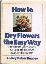 Two Books of Flower Crafting How to Dry Flowers and Making Paper Flowers - $7.75