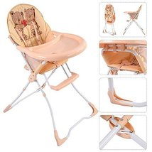 Baby High Chair Infant Toddler Feeding Booster Seat Folding Safety Porta... - $63.98