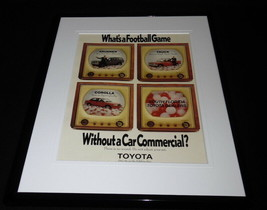 1990 Florida Toyota Corolla 4Runner Framed 11x14 ORIGINAL Advertisement - $34.64