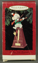 Hallmark Ornament IN TIME WITH CHRISTMAS Mouse Fiddle Metronome Movement... - £9.71 GBP