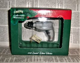 Mr. Christmas Sears Craftsman Drill Tool Ornament 1998 - $9.99