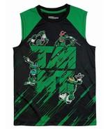 MUTANT NINJA TURTLES Muscle Tee Tank Top Mesh Shirt NWT Boys Sz. 6-7, 8 ... - $9.99