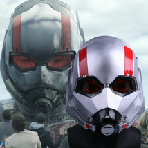 Ant-Man Helmet Cosplay 2018 Movie Antman and The Wasp Scott PVC Mask - $66.82 CAD+