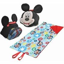 Disney Disney mouse ClubHouse Mickey Pillow On The Go Matt set  - $28.04