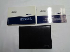 2003 Chevy Impala Owners Manual Set W/ Case Oem Free Shipping! - $8.50
