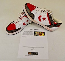Converse Weapon Basketball New York Star 14 DWAYNE WADE Personal Shoes w COA - $346.49