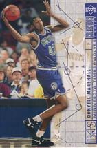 1994-1995 Upper Deck Collector's Choice Card Donyell Marshall #387 Bluep... - $1.97