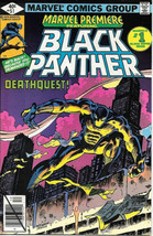 Marvel Premiere Comic Book #51 Black Panther 1979 VERY FINE- - $11.64